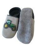 Lederpuschen Traktor
